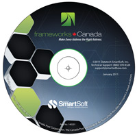 frameworks Canada Address Accuracy Software