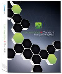 frameworks Canada Address Accuracy Software