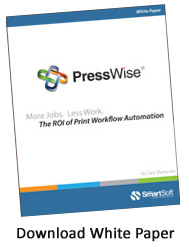 Print Workflow Automation and Web Storefront Software PressWise